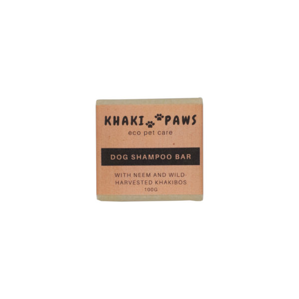 Khaki Paws Dog Shampoo Bar